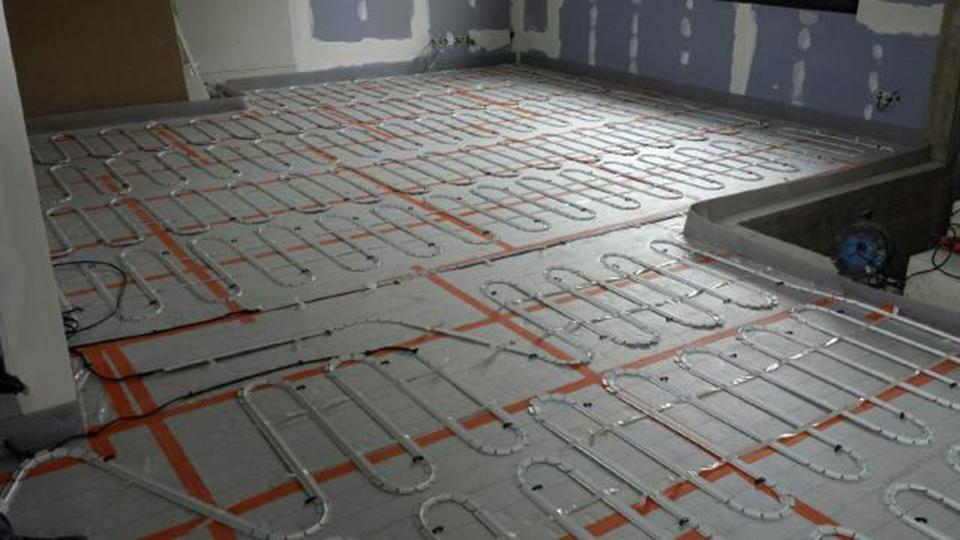Photo plancher chauffant electrique