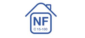 logo norme NF-C-15-100